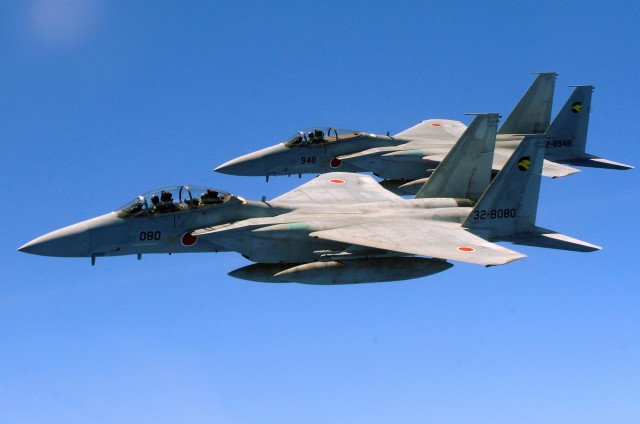 two_japan_air_self_defense_force_f-15_jets